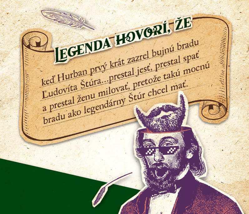 Zlatý Bažant Hurban Legend - Legenda o Štúrovej brade
