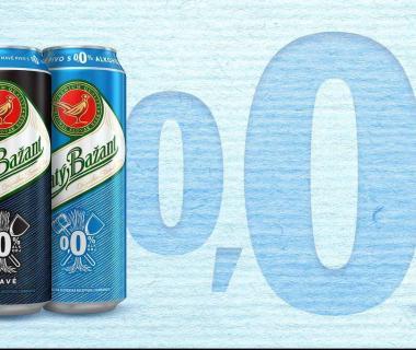 Pivo Zlatý Bažant 0,0% úplne bez alkoholu