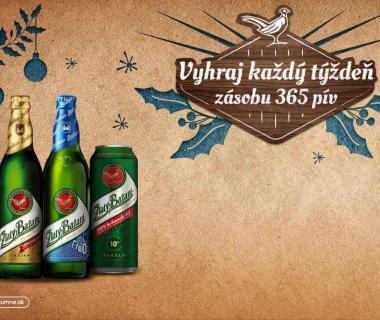 Súťaž s pivami Zlatý Bažant '73, Zlatý Bažant ležiak, Zlatý Bažant 0,0% a Zlatý Bažant Radler a Zlatý Bažant Radler 0,0% v plechovke i vo fľaši.
